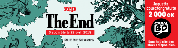 The End : Jaquette Canal BD