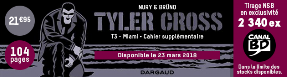 Tyler Cross T.3 : Édition Canal BD