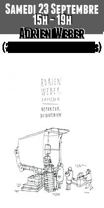Adrien Weber en dédicaces