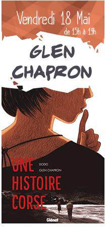 Glen CHapron en dédicaces