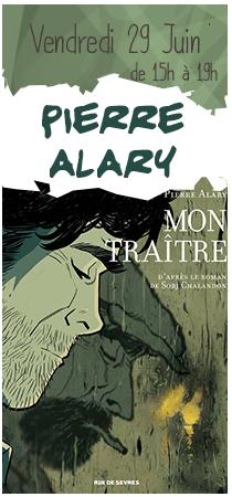 Pierre Alary en dédicaces