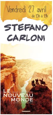 Stefano Carloni en dédicaces
