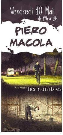 Piero Macola en dédicaces